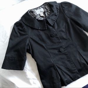 Forever 21 Crop Jacket Small